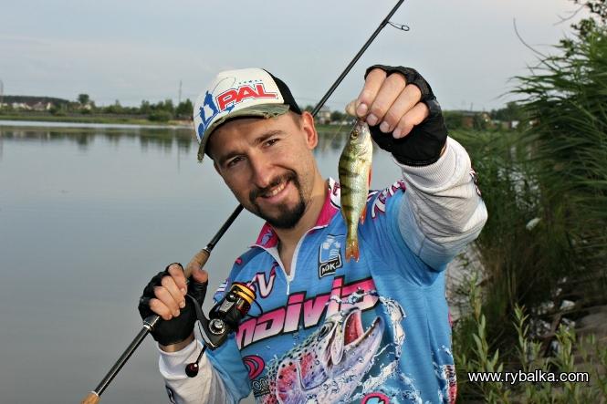 Рыбалка на окуня, летняя жара!