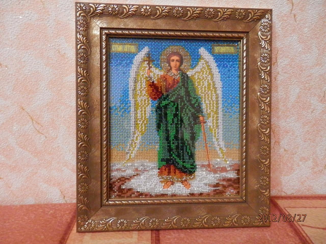 Ангел хранитель вышивка фото