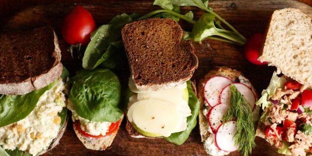 5 рецептов сэндвичей для офисных обедов
