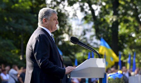 """""""А еще он стремился в НАТО и ЕС"""": Порошенко высмеяли за заявление о """"европейском выборе"""" князя Владимира"""