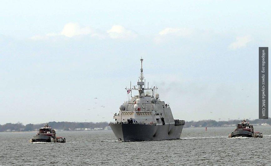 Два корабля ВМС США вошли в Чёрное море для совместных учений с Украиной