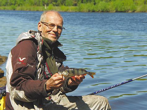 рыбалка окуня на удочку видео
