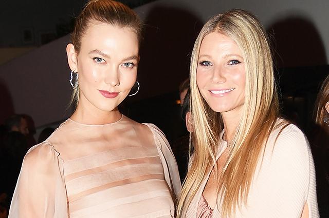 Гвинет Пэлтроу и Карли Клосс стали главными звездами на гала-вечере в Нью-Йорке