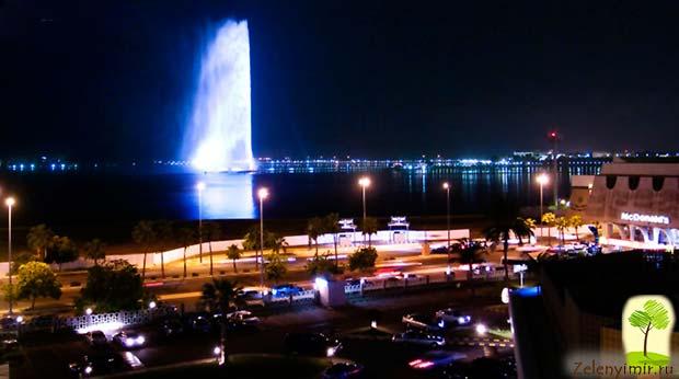 Фонтан Фахда - самый высокий фонтан в мире, Саудовская Аравия - 8
