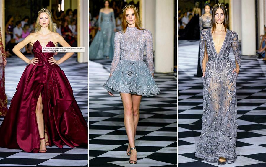 парижская неделя моды зухаир мурад 2018