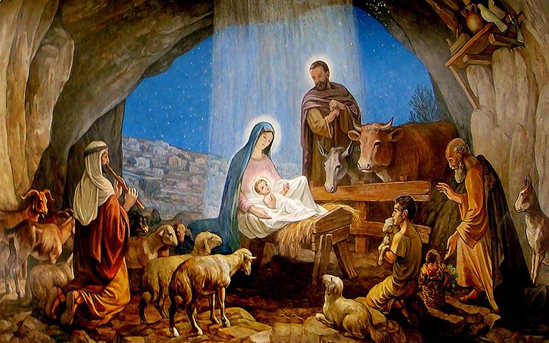 В приближении Рождества