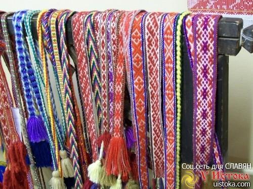 Славянские пояса. Чудо, рожденное на Севере