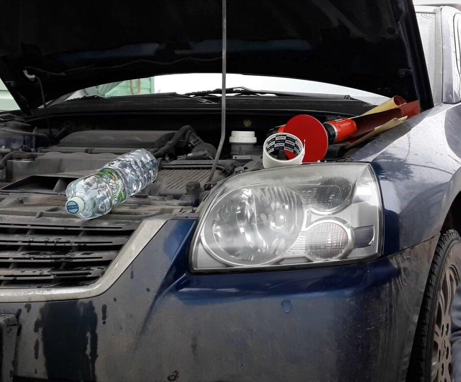Легкий способ полировки фар автомобиля с долговечным результатом