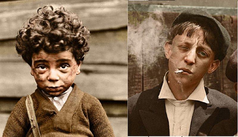 Жизнь и быт детей-рабочих в Америке сто лет назад