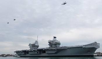 Лондон отправит в Тихий океан авианосец из-за напряжённости в Южно-Китайском море