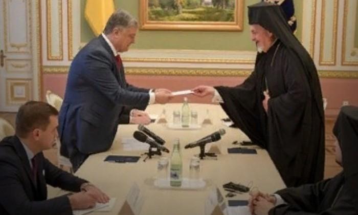 Украина заявила о цели Вселенского патриарха отделить церкви Киева от Москвы