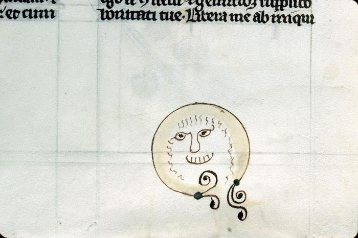 Рисунки на книгах, которым уже более 800 лет