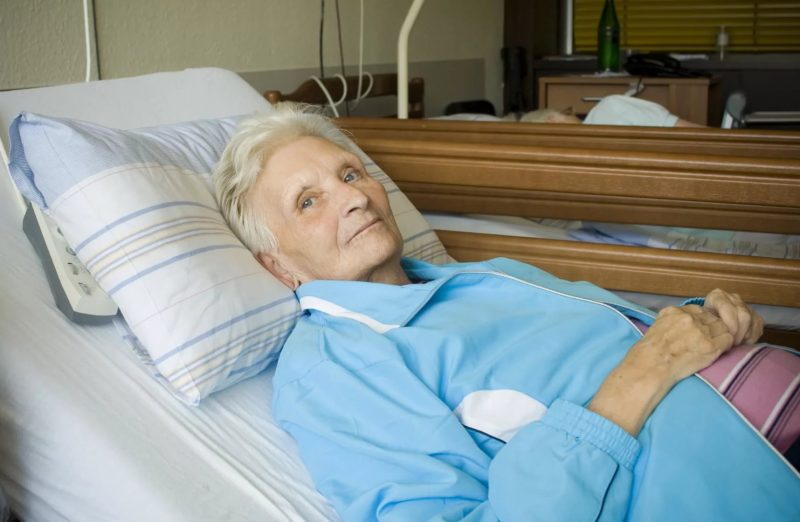 Лечение пролежней у лежачих больных.