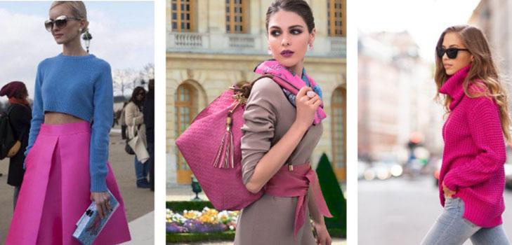 Зимний тренд на цвет «Безумная фуксия»: как носить и с чем сочетать