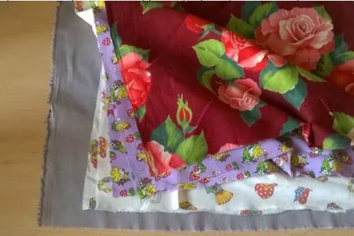 Яркий, простой и очень красивый коврик в технике синель
