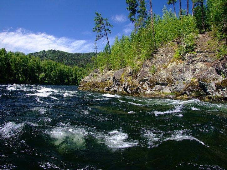 река Бия