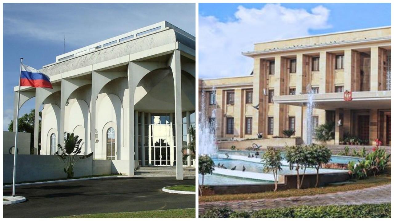 Как выглядит посольство Российской Федерации в разных странах мира посольство, россия, фото, чиновники