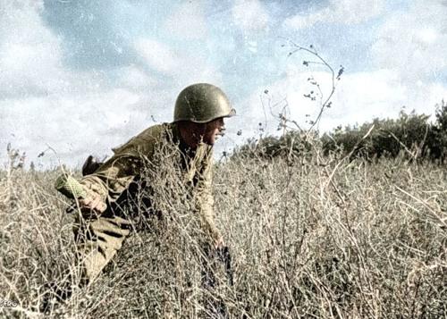 Простой русский Ваня в Германии - 1945.
