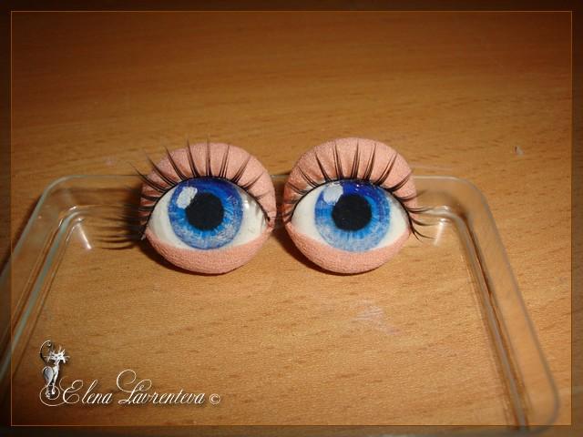 Глазки для кукол своим руками мастер класс