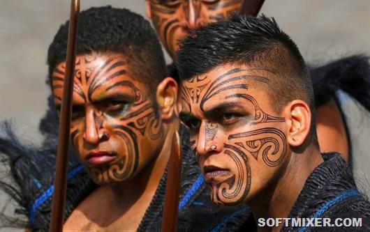 Видео секс в племени маори секс