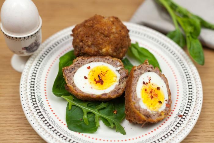 Яйцо по-шотландски - оригинальная закуска!