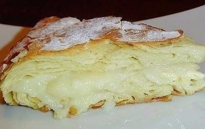 Это египетская сладость, то ли пирог, то ли пирожное, но скажу одно — это безумно вкусно