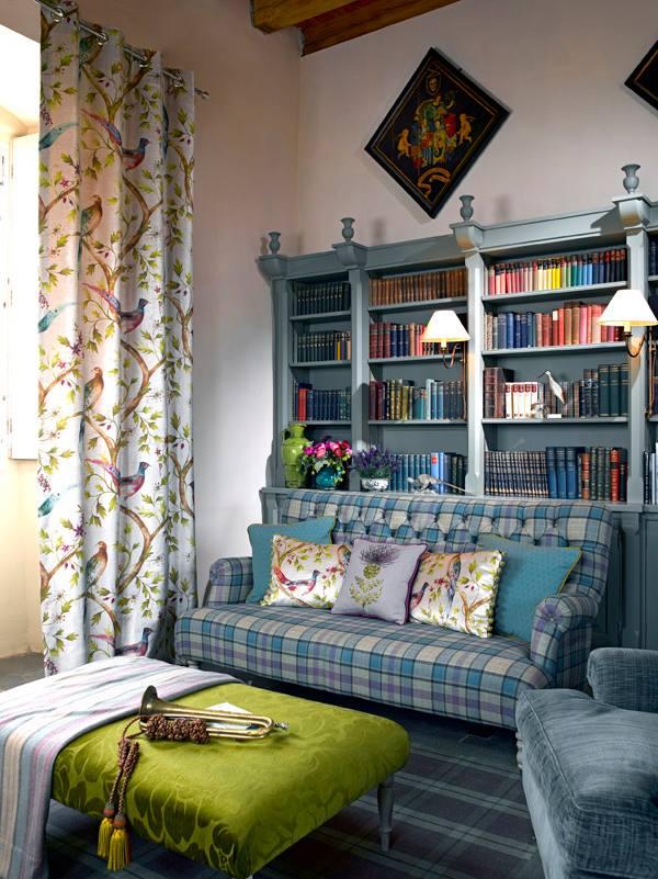 Уютная мебель в стиле английского кантри