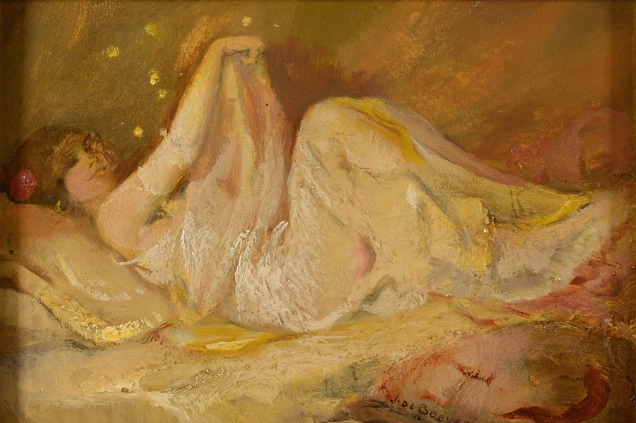 Проститутки, скелеты и демоны. Ян Франс де Бовер