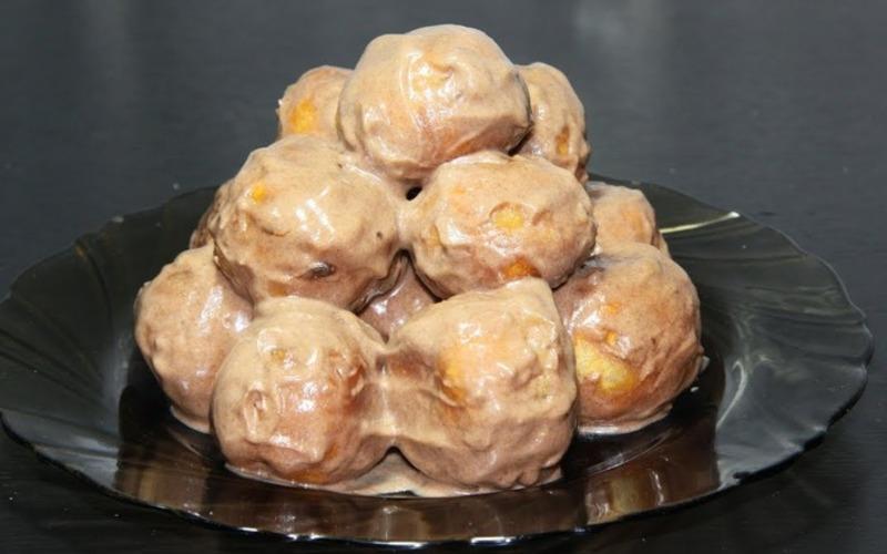 Печенье Орешки в креме