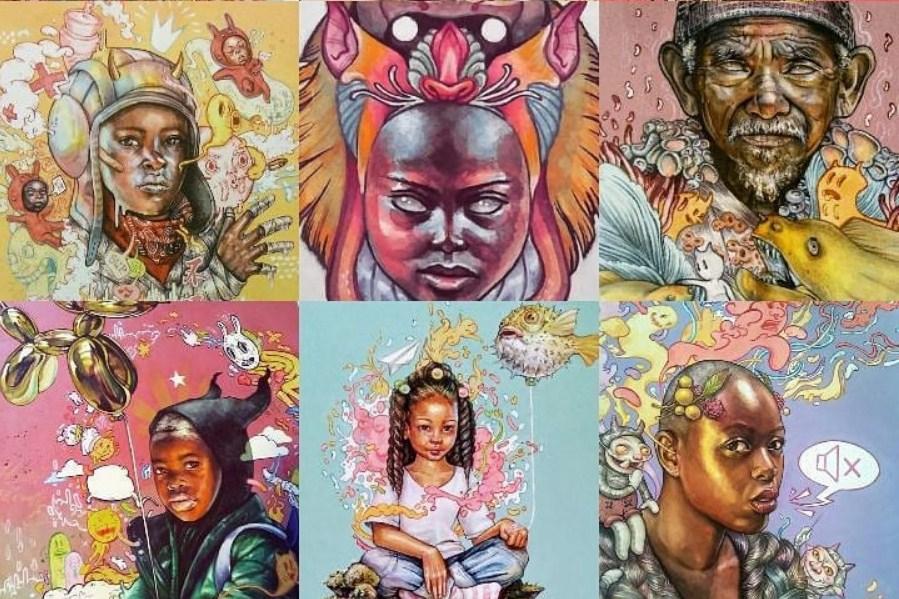 Сюрреалистичные работы Кайлы Махаффи, которые перевернут ваше представление о портретной живописи