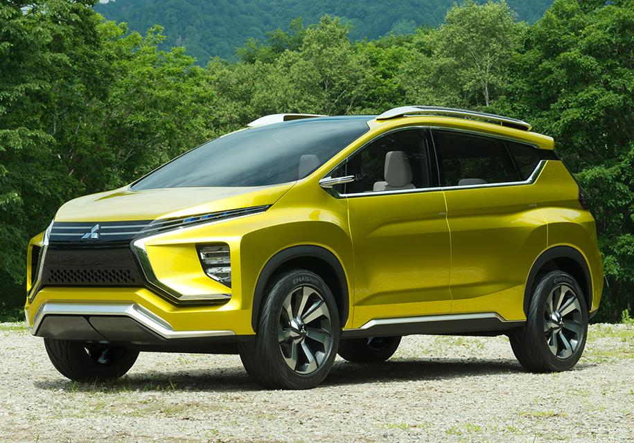 Mitsubishi представит семиместный «расширитель»