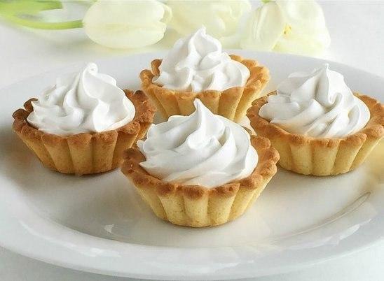 Очень простой рецептик вкусного пирожного «Корзиночки»