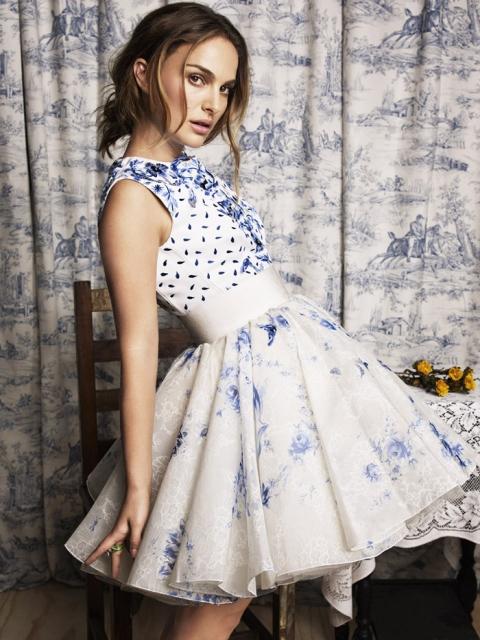 Натали Портман  в фотосессии Тэша  для журнала Marie Claire ноябрь 2013