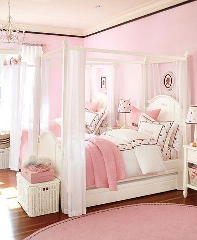"""10 идей оформления детской комнаты в стиле """"Маленькая принцесса"""""""