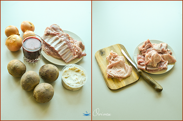 «Шпундра»- сочная свинина со свеклой