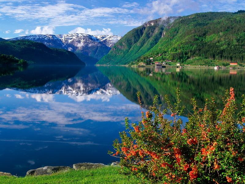 Сказочная Норвегия: живописные пейзажи