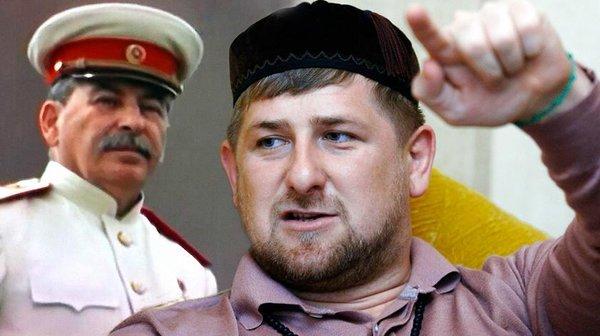 Кадыров вновь обрушился на Сталина