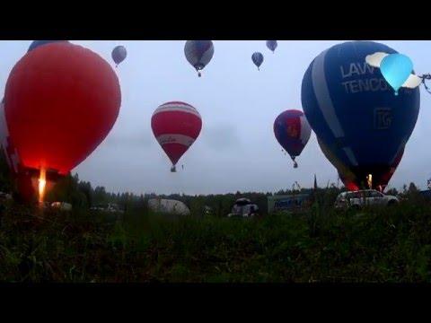 Легче Воздуха: Чемпионат Московской Области По Воздухоплаванию 2016 - Общий Старт Аэростатов
