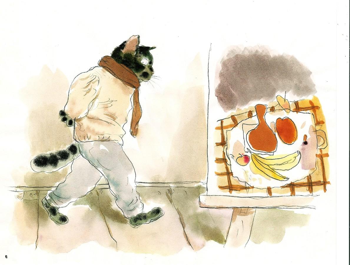 Андрей Аринушкин. Истории кота-художника