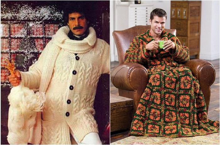 Модные новинки из 70-х: мужская мода со страниц старых журналов
