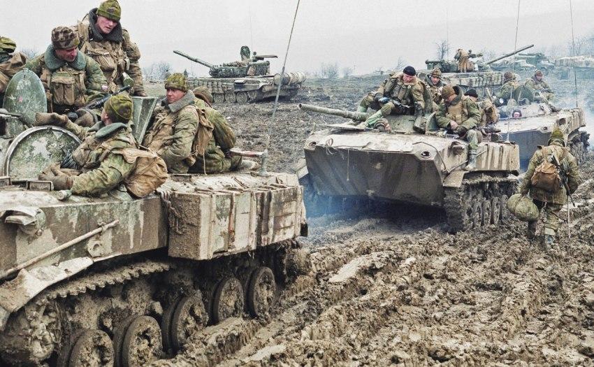 Война в Чечне. Ужас Грозного...