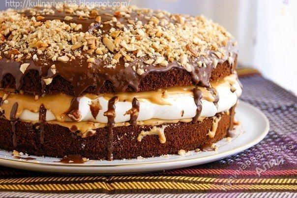 Молодежный тортик «Американский пирог» — креативное чудо кулинарии.