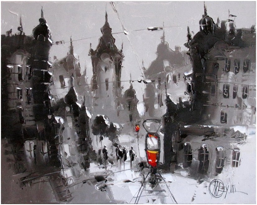 Современный художник Дмитрий Меуш