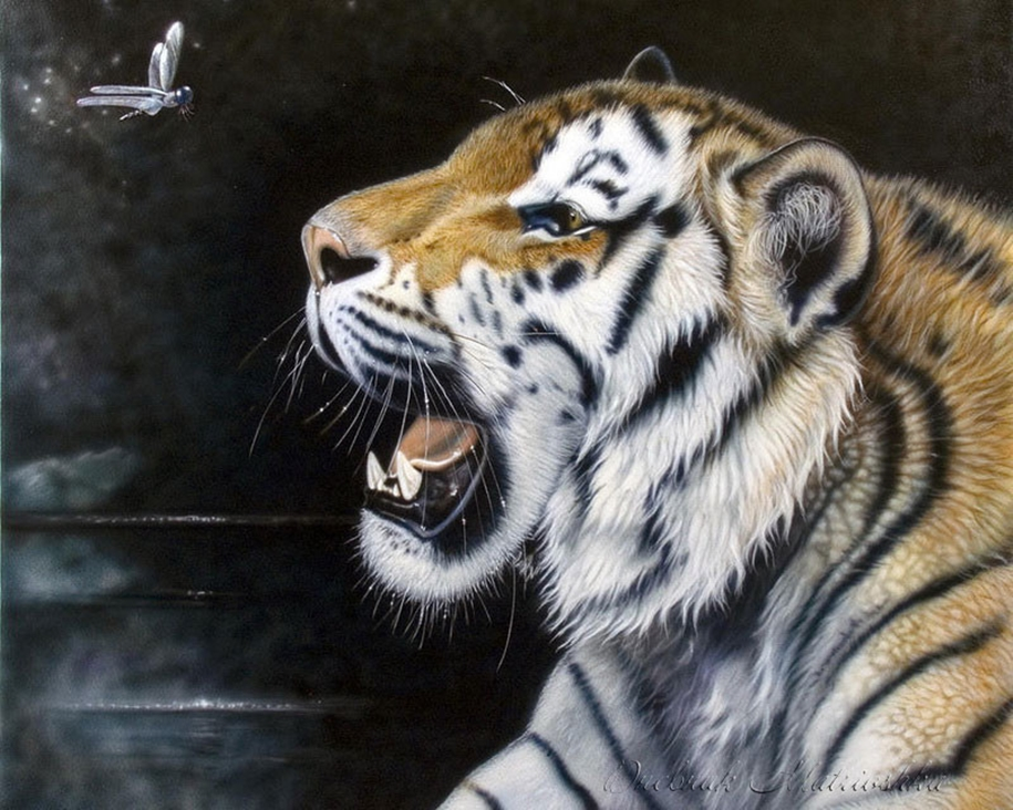 Awesome realistic drawings of animals 02