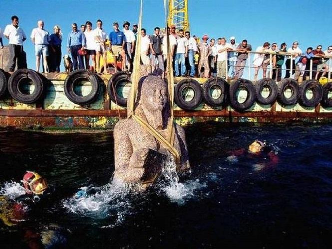 Египетская Атлантида обнаружена учеными на дне Нила