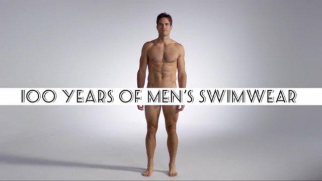 100 лет мужских плавок
