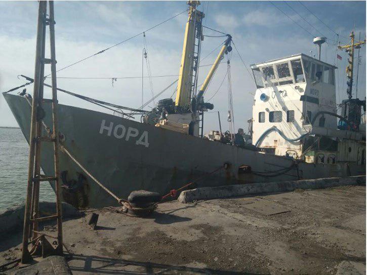 Киев не допускает российских дипломатов к экипажу «Норда»