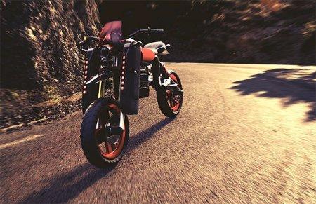 Пневмомотоцикл для пожарных - Фото 1
