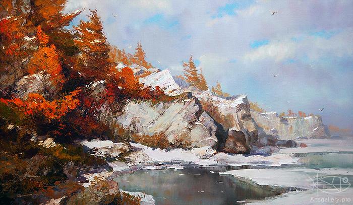Созвучие природы и души художника. Константин Дружин