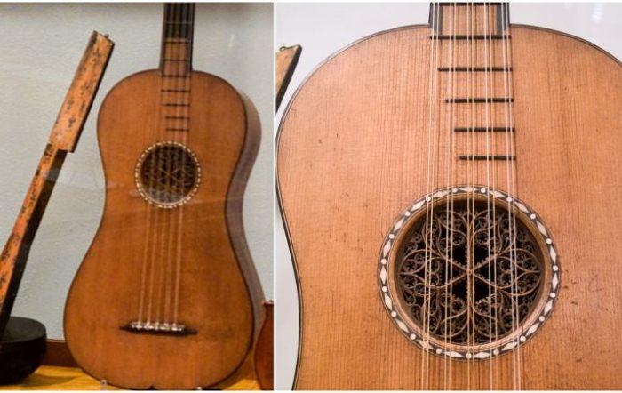 Гитара Страдивари - старинный музыкальный инструмент, на котором до сих пор можно исполнять музыку.